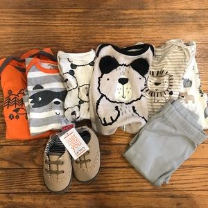 Baby Animal Onsie Bundle